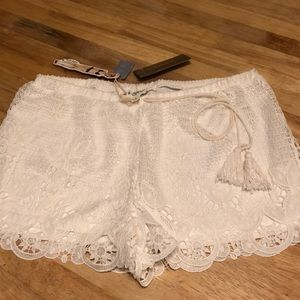 NWT B Sharp Lace Shorts